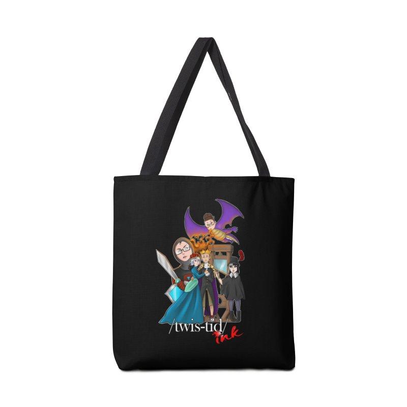 Twistid characters team Accessories Bag by Twistid ink's Artist Shop