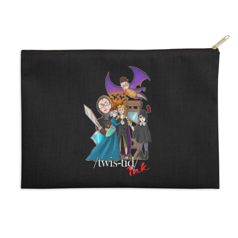 Twistid characters team Accessories Zip Pouch by Twistid ink's Artist Shop
