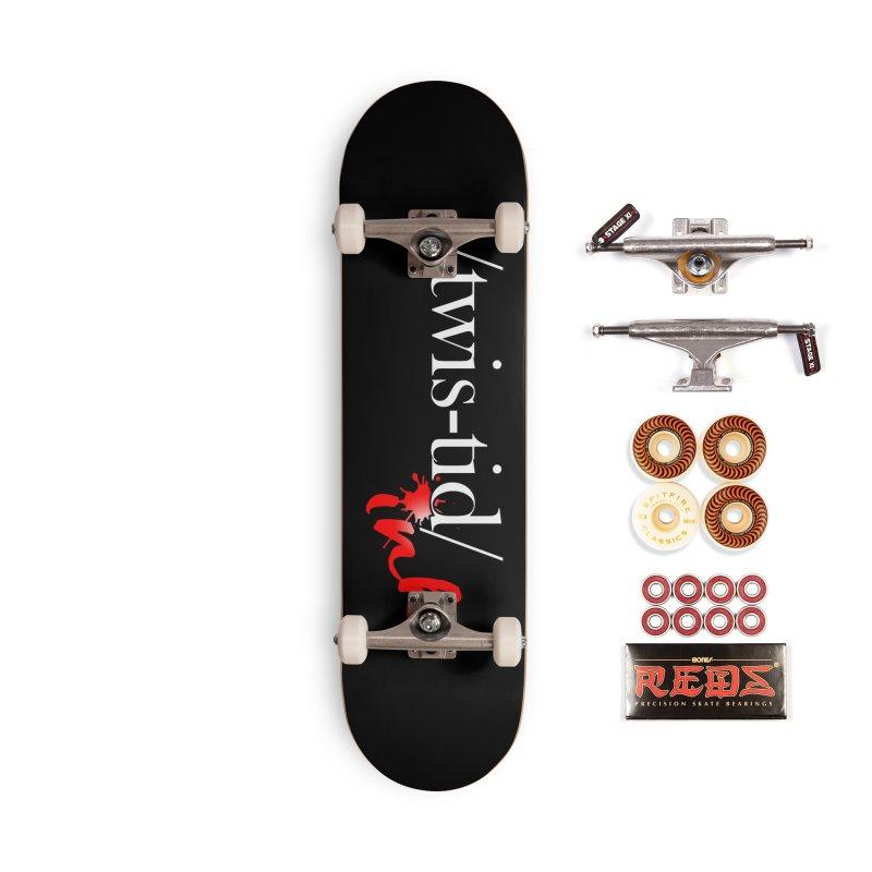 Twistid Ink logo Accessories Skateboard by Twistid ink's Artist Shop