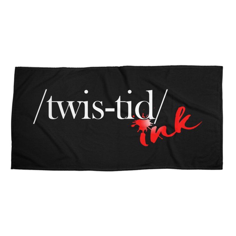 Twistid Ink logo Accessories Beach Towel by Twistid ink's Artist Shop
