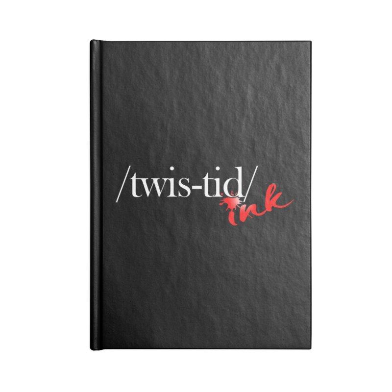 Twistid Ink logo Accessories Notebook by Twistid ink's Artist Shop