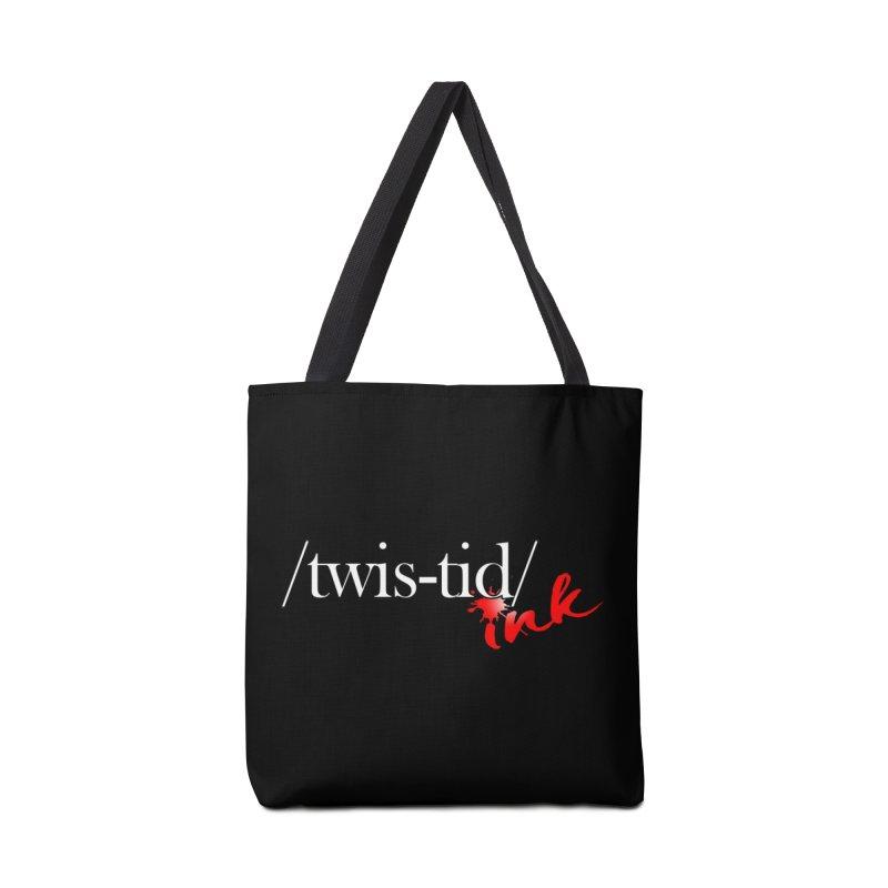 Twistid Ink logo Accessories Bag by Twistid ink's Artist Shop
