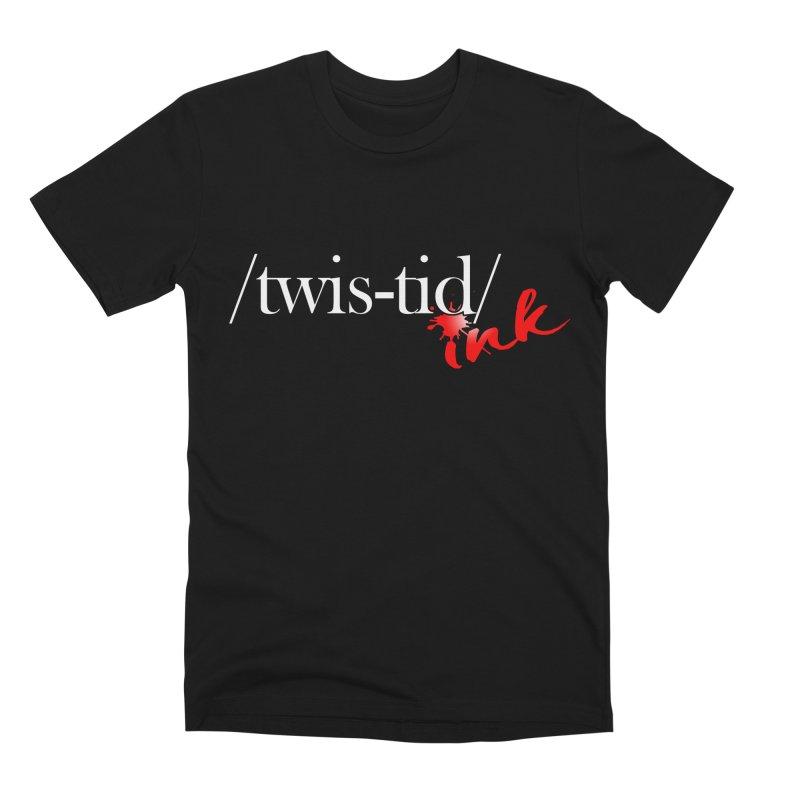 Twistid Ink logo Men's T-Shirt by Twistid ink's Artist Shop
