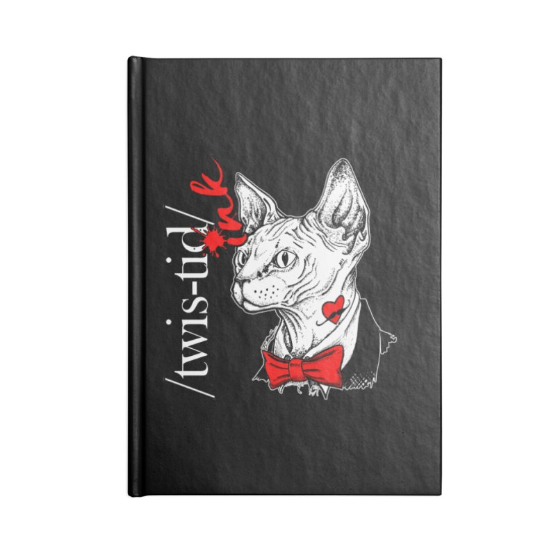 Twist-id Snidely Accessories Blank Journal Notebook by Twistid ink's Artist Shop