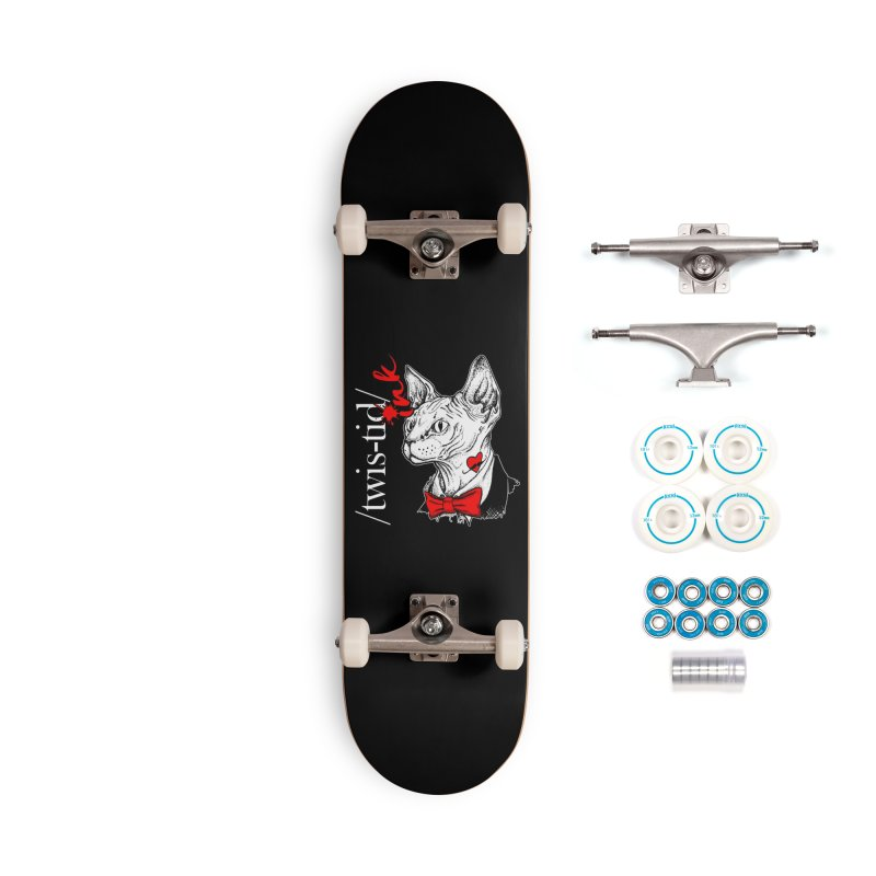 Twist-id Snidely Accessories Skateboard by Twistid ink's Artist Shop