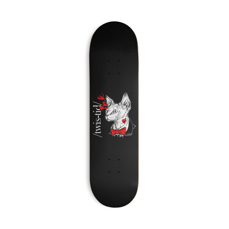 Twist-id Snidely Accessories Deck Only Skateboard by Twistid ink's Artist Shop