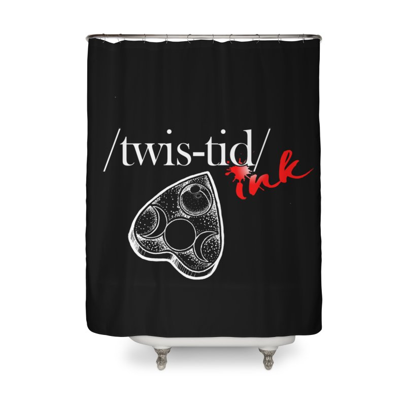 Ouija 2 Home Shower Curtain by Twistid ink's Artist Shop