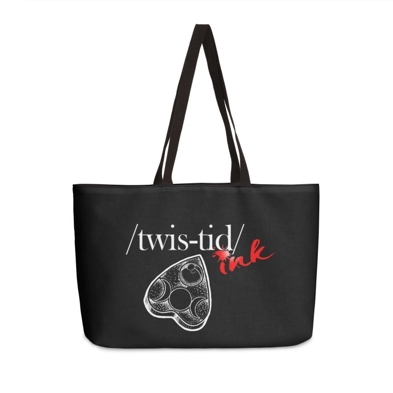 Ouija 2 Accessories Weekender Bag Bag by Twistid ink's Artist Shop