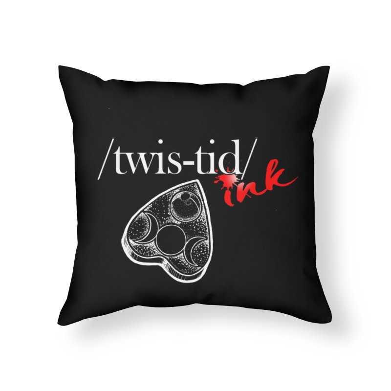 Ouija 2 Home Throw Pillow by Twistid ink's Artist Shop