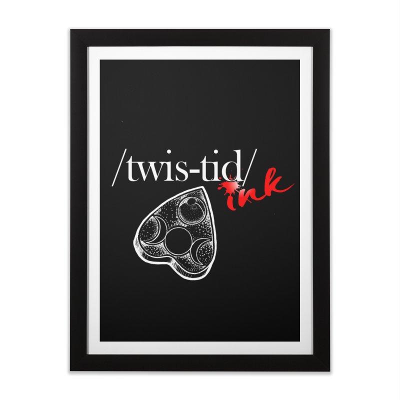 Ouija 2 Home Framed Fine Art Print by Twistid ink's Artist Shop