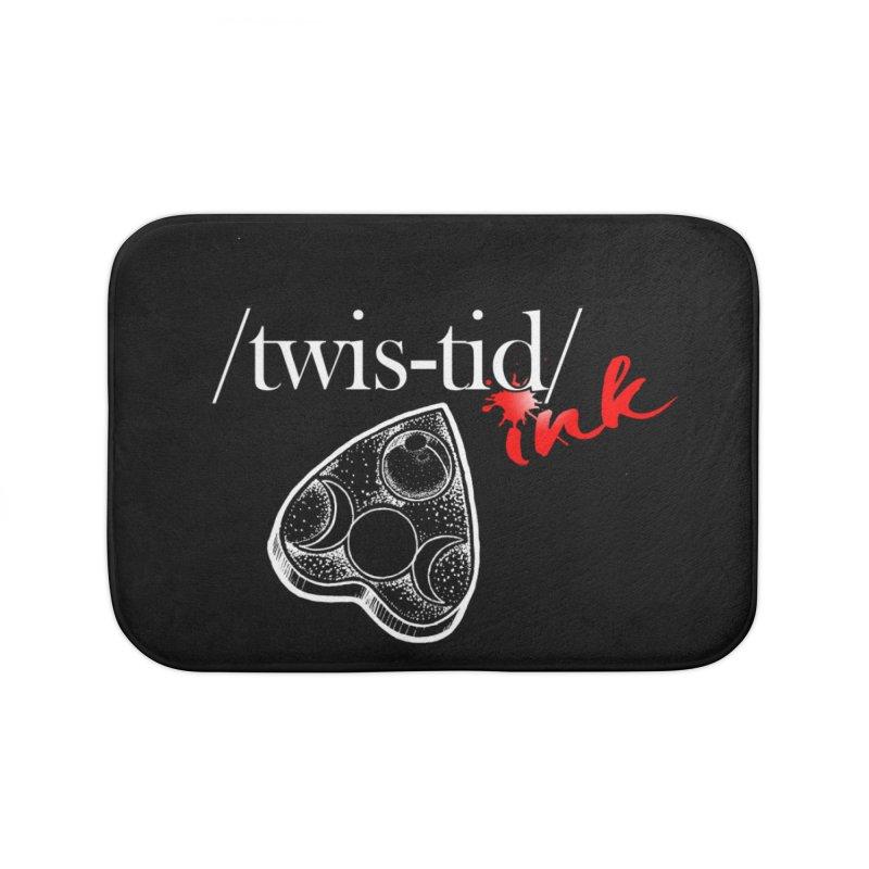 Ouija 2 Home Bath Mat by Twistid ink's Artist Shop