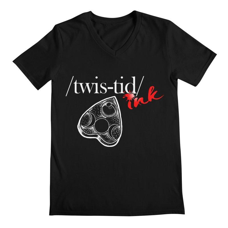 Ouija 2 Men's Regular V-Neck by Twistid ink's Artist Shop