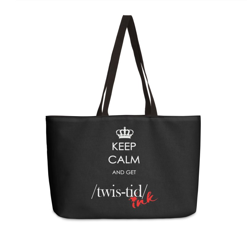 KCGT Accessories Weekender Bag Bag by Twistid ink's Artist Shop