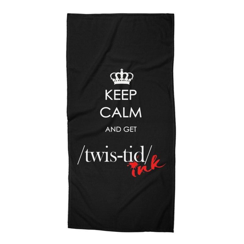 KCGT Accessories Beach Towel by Twistid ink's Artist Shop