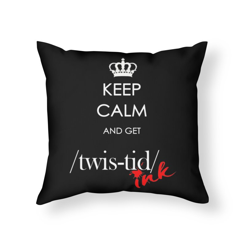 KCGT Home Throw Pillow by Twistid ink's Artist Shop