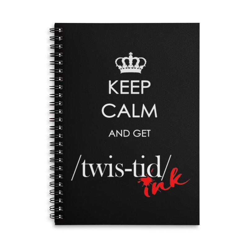 KCGT Accessories Notebook by Twistid ink's Artist Shop