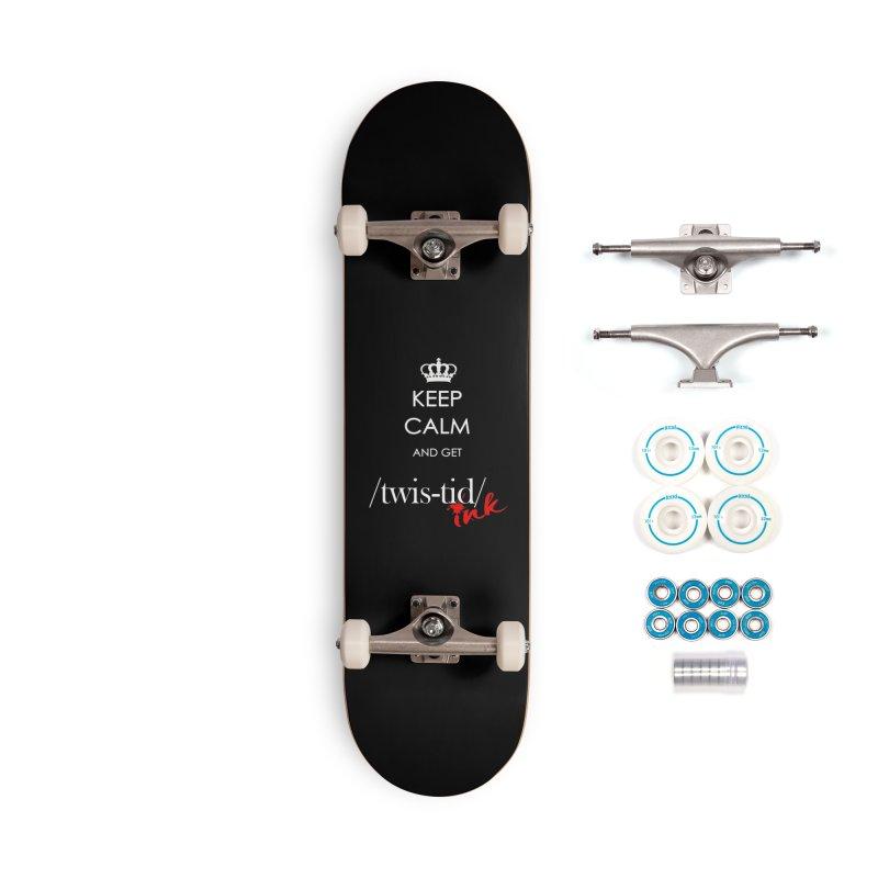 KCGT Accessories Skateboard by Twistid ink's Artist Shop