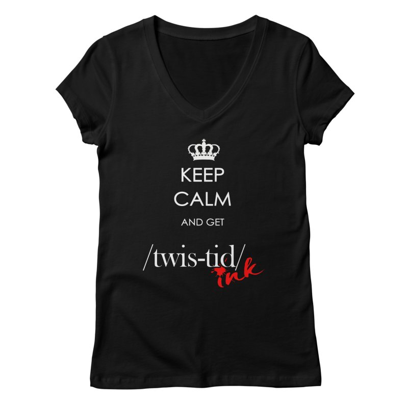 KCGT Women's Regular V-Neck by Twistid ink's Artist Shop