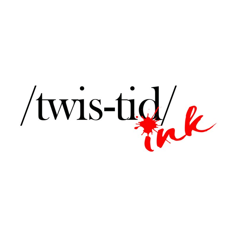 Twistid Ink blk & red Accessories Sticker by Twistid ink's Artist Shop
