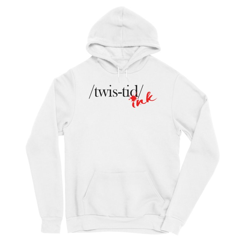 Twistid Ink blk & red Women's Pullover Hoody by Twistid ink's Artist Shop