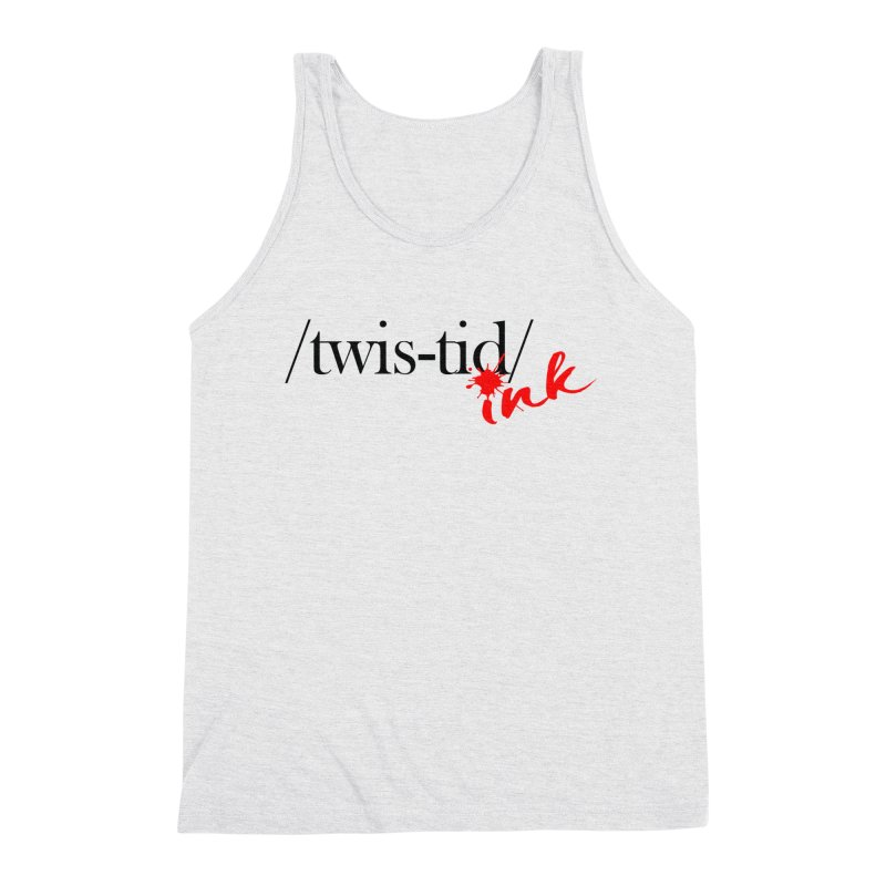 Twistid Ink blk & red Men's Tank by Twistid ink's Artist Shop