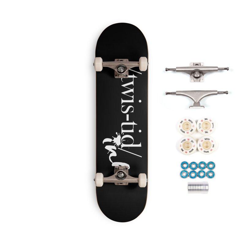 Twistid Ink White Accessories Skateboard by Twistid ink's Artist Shop