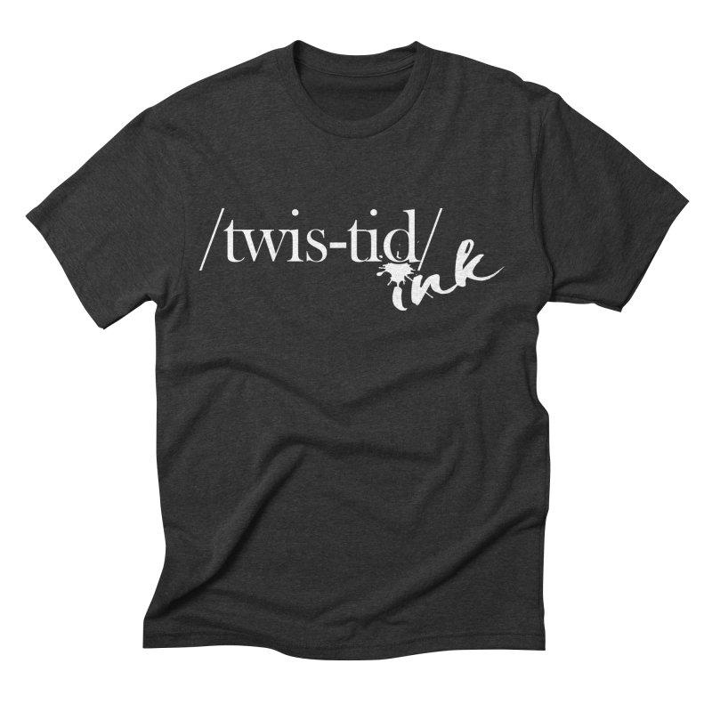 Twistid Ink White Men's T-Shirt by Twistid ink's Artist Shop