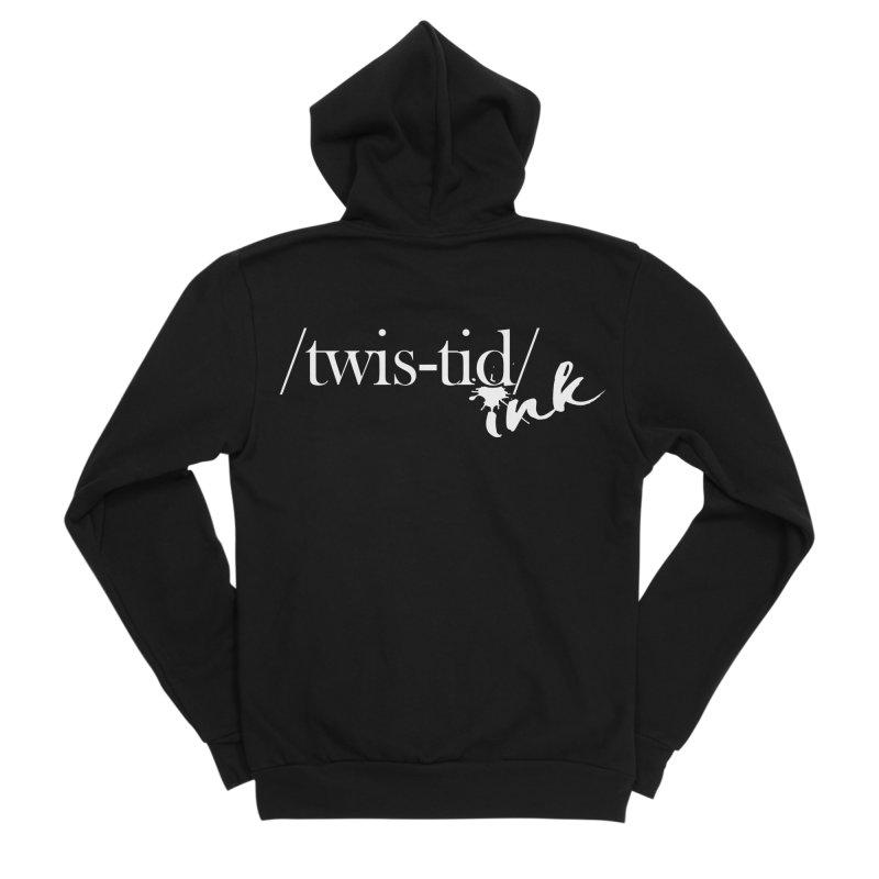 Twistid Ink White Women's Zip-Up Hoody by Twistid ink's Artist Shop