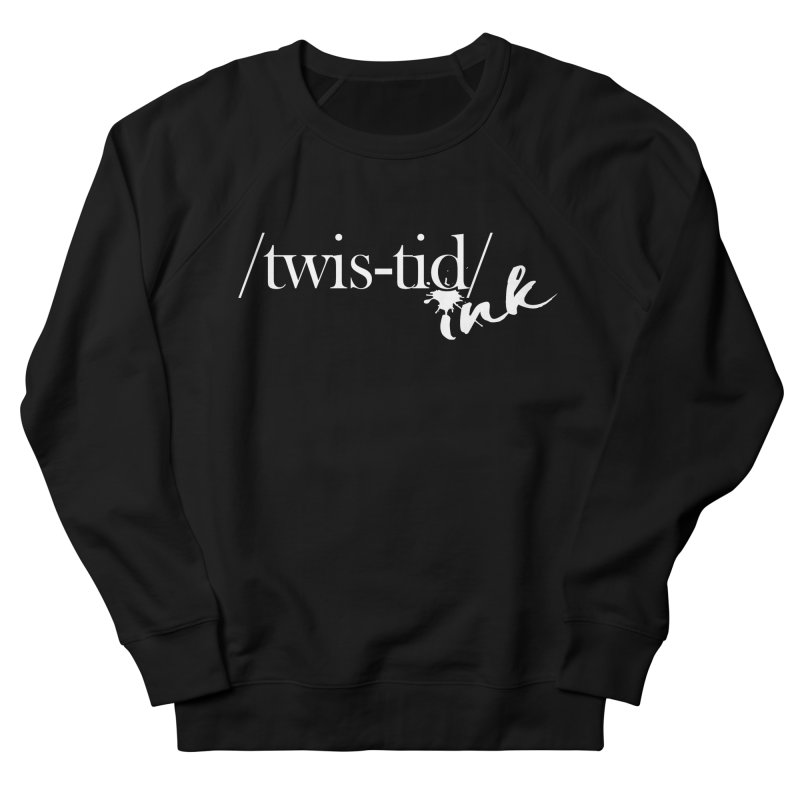 Twistid Ink White Women's French Terry Sweatshirt by Twistid ink's Artist Shop