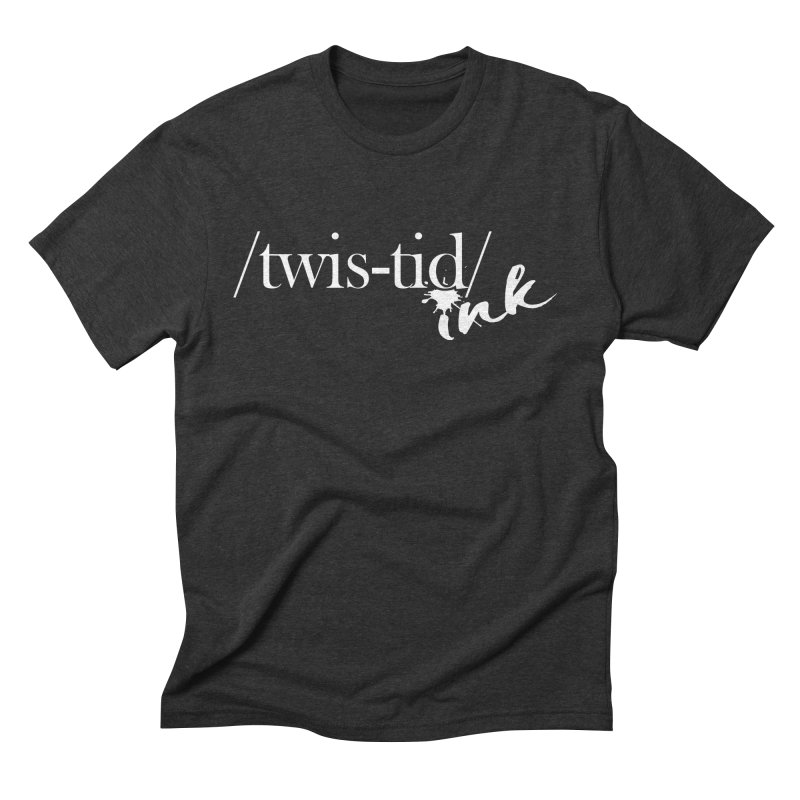Twistid Ink White Men's T-Shirt by Twistid ink's Artist Shop