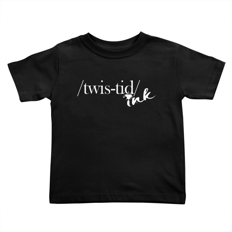 Twistid Ink White Kids Toddler T-Shirt by Twistid ink's Artist Shop