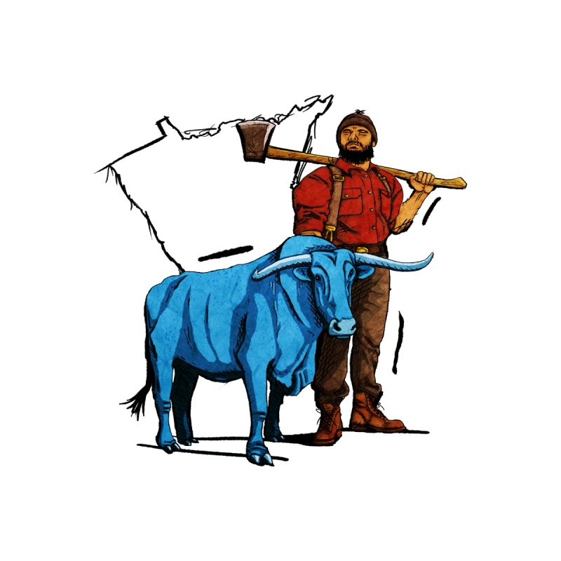 Paul Bunyan MN Spirit by TyDyed Art