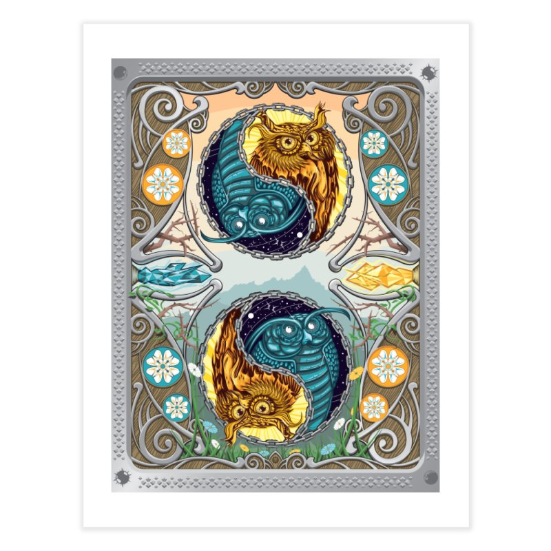 Nouveau Balance in Fine Art Print by TyDyed Art