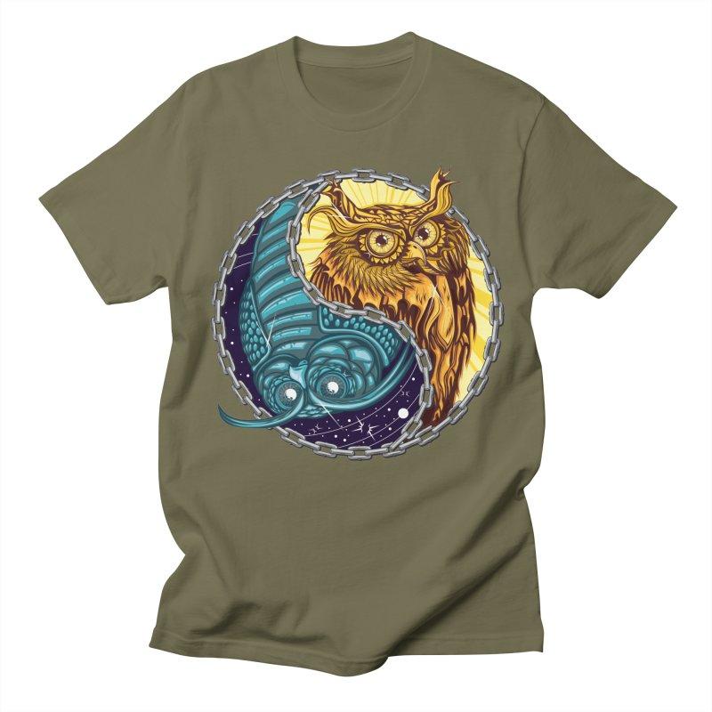 Nouveau Balance Men's Regular T-Shirt by TyDyed Art