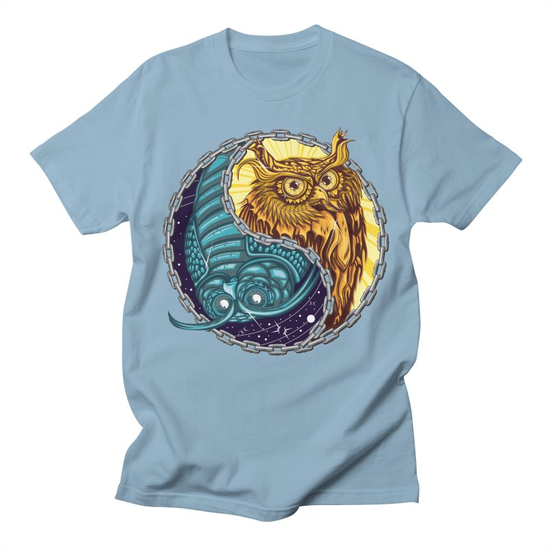 Nouveau Balance Men's Regular T-Shirt by TyDyed Art