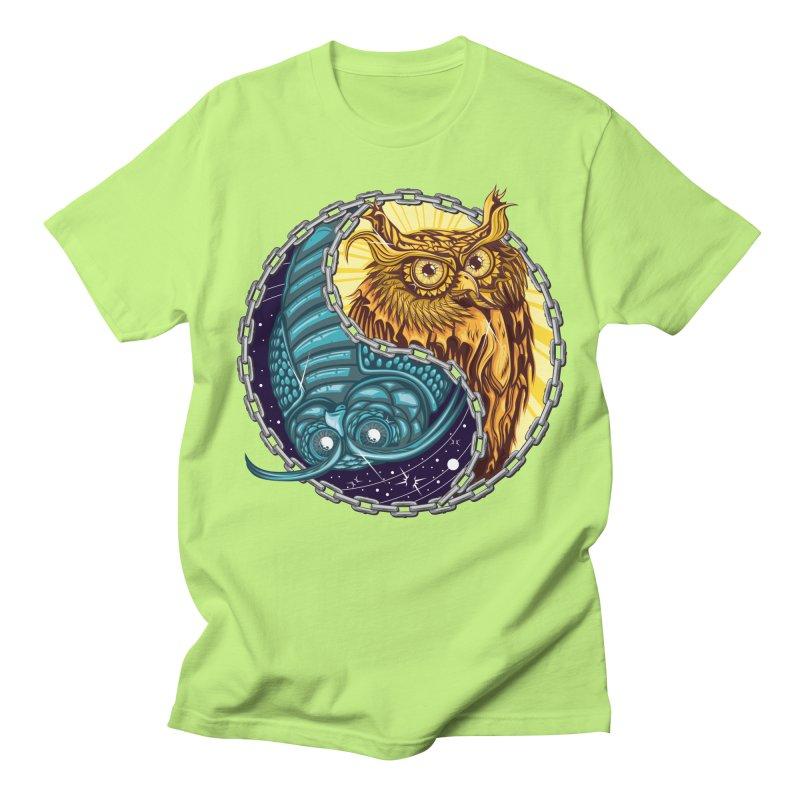 Nouveau Balance Women's Regular Unisex T-Shirt by TyDyed Art