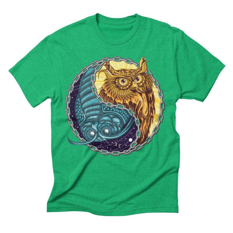 Nouveau Balance Men's Triblend T-Shirt by TyDyed Art
