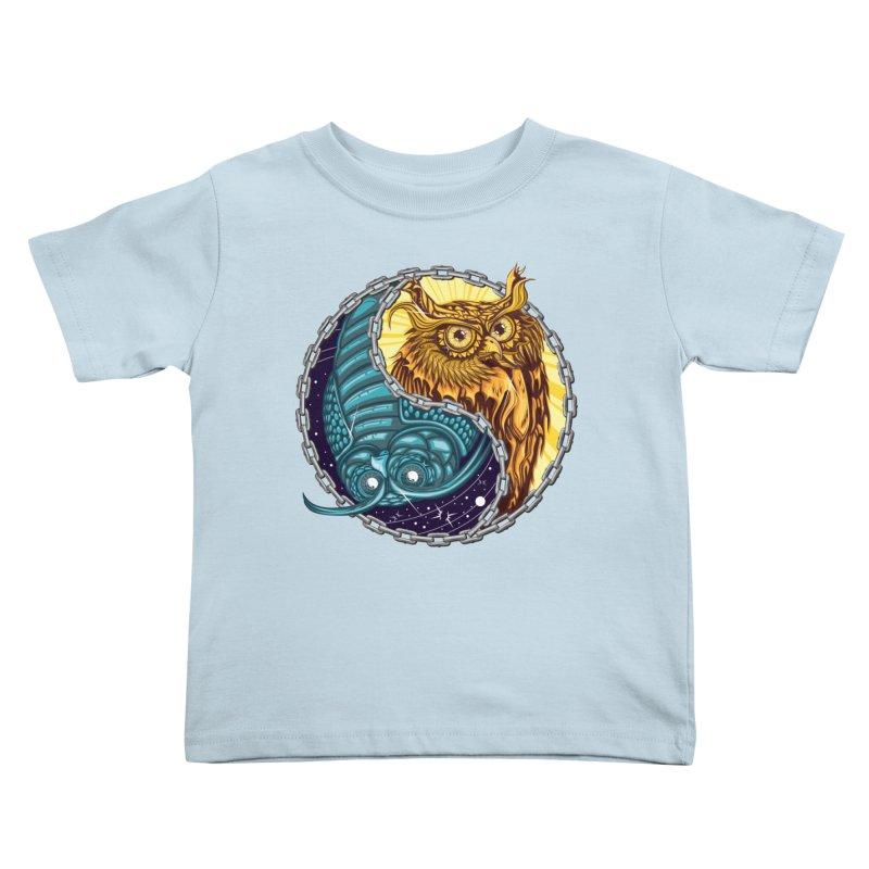 Nouveau Balance Kids Toddler T-Shirt by TyDyed Art