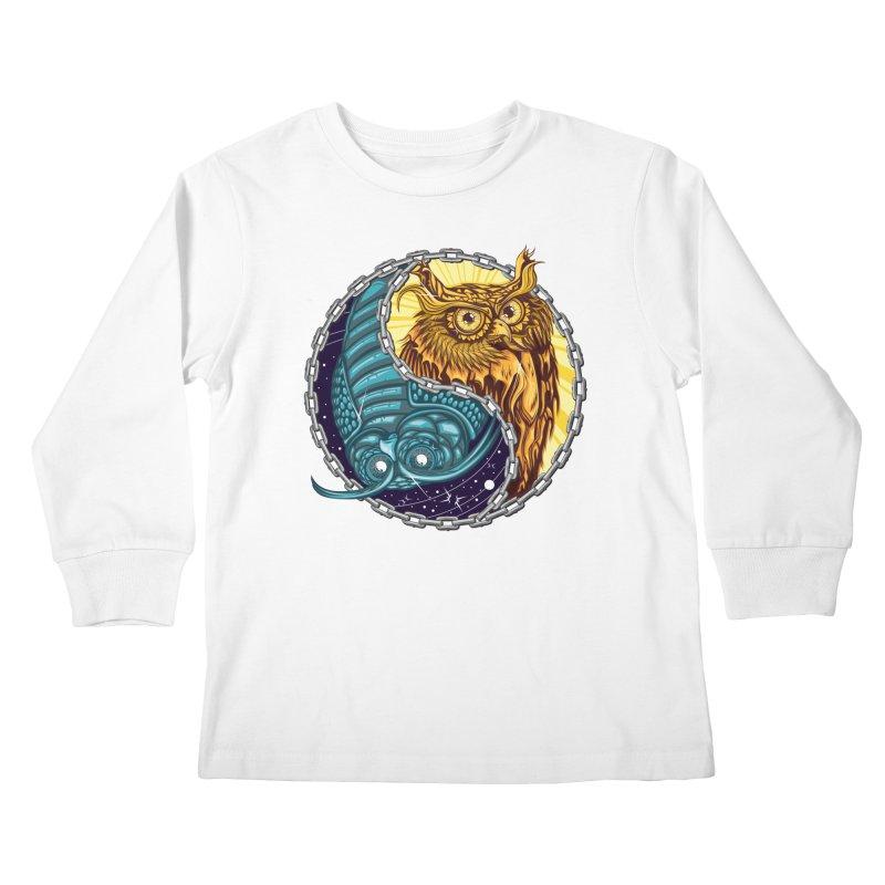 Nouveau Balance Kids Longsleeve T-Shirt by TyDyed Art