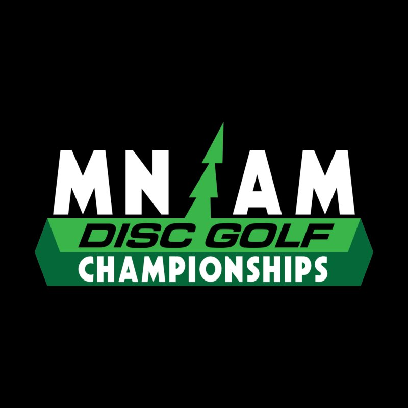 MN AM Disc Golf Championships - Full Color by TyDyed Art