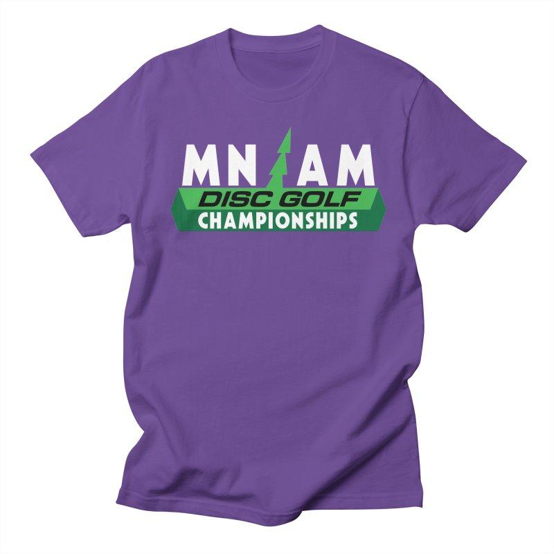 MN AM Disc Golf Championships - Full Color Men's Regular T-Shirt by TyDyed Art