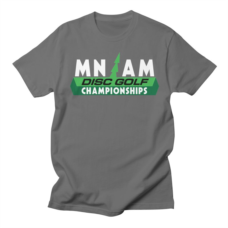 MN AM Disc Golf Championships - Full Color Men's T-Shirt by TyDyed Art