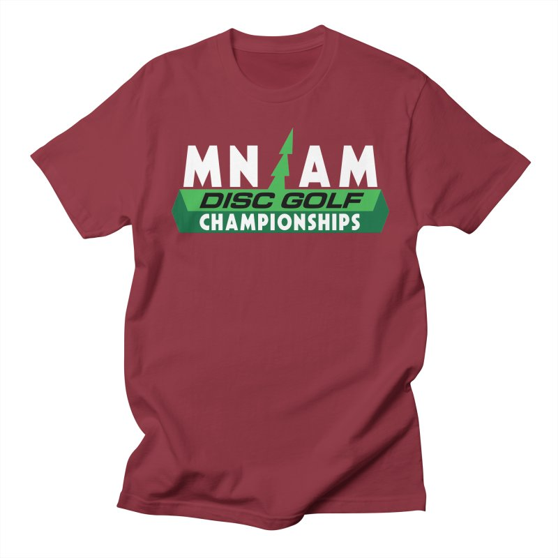 MN AM Disc Golf Championships - Full Color Men's Regular T-Shirt by TyDyed Art