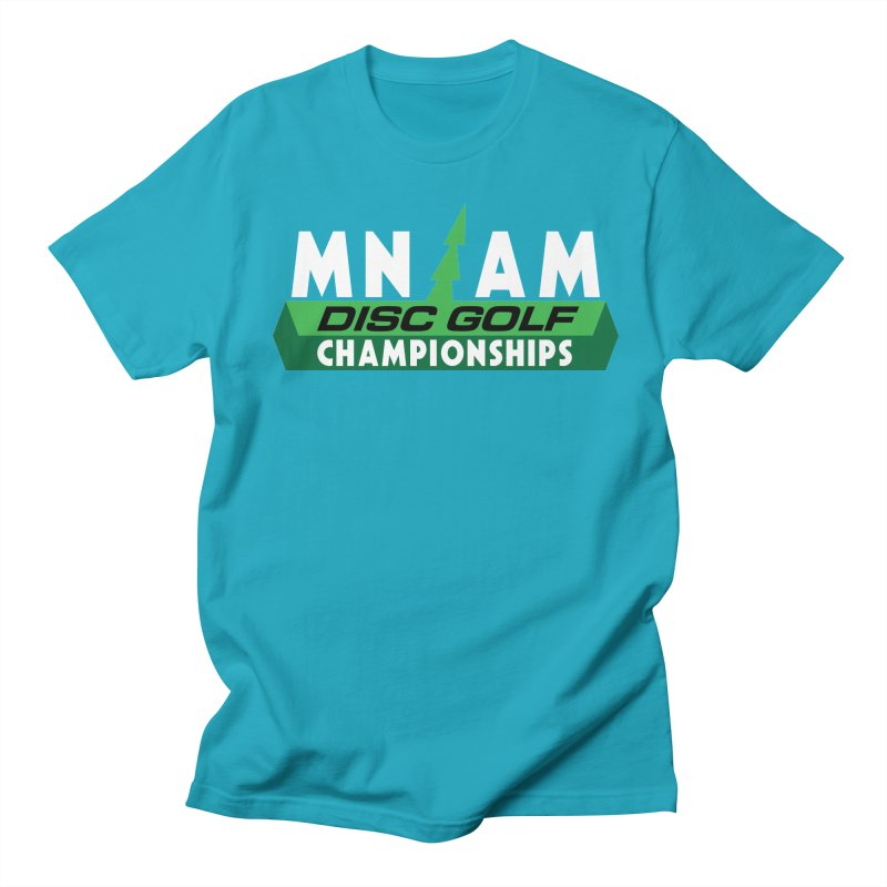 MN AM Disc Golf Championships - Full Color Women's Regular Unisex T-Shirt by TyDyed Art
