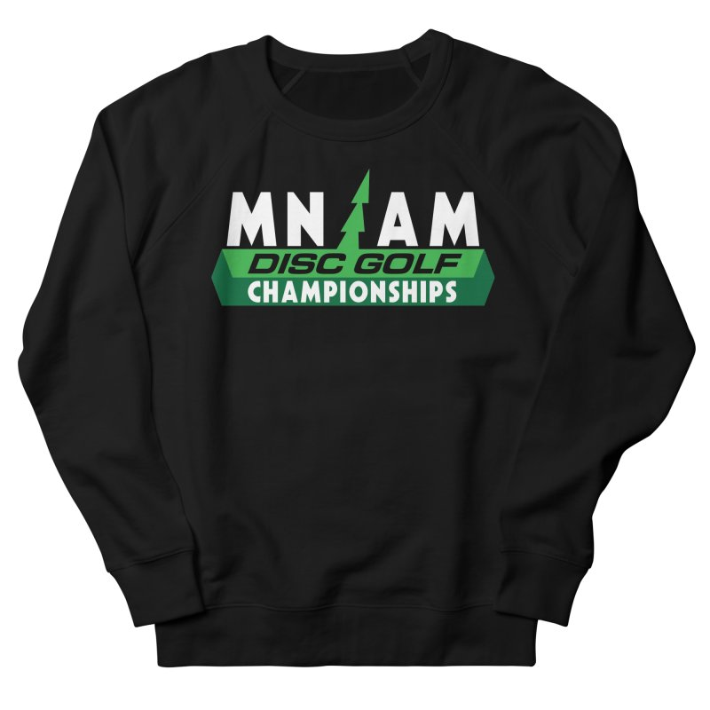 MN AM Disc Golf Championships - Full Color Men's French Terry Sweatshirt by TyDyed Art