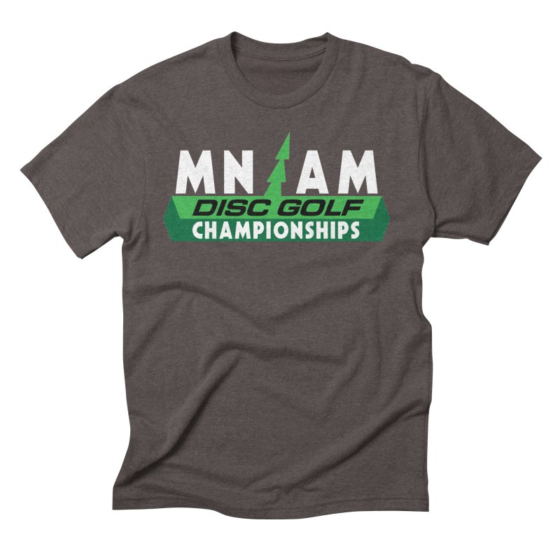 MN AM Disc Golf Championships - Full Color Men's Triblend T-Shirt by TyDyed Art