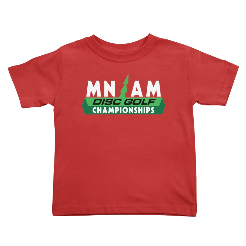 MN AM Disc Golf Championships - Full Color Kids Toddler T-Shirt by TyDyed Art