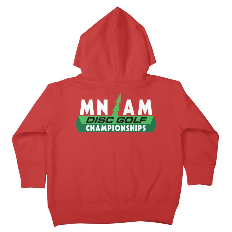 MN AM Disc Golf Championships - Full Color Kids Toddler Zip-Up Hoody by TyDyed Art