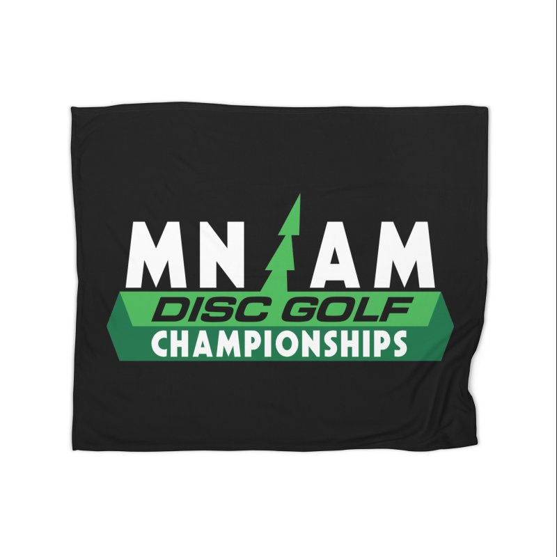 MN AM Disc Golf Championships - Full Color Home Blanket by TyDyed Art