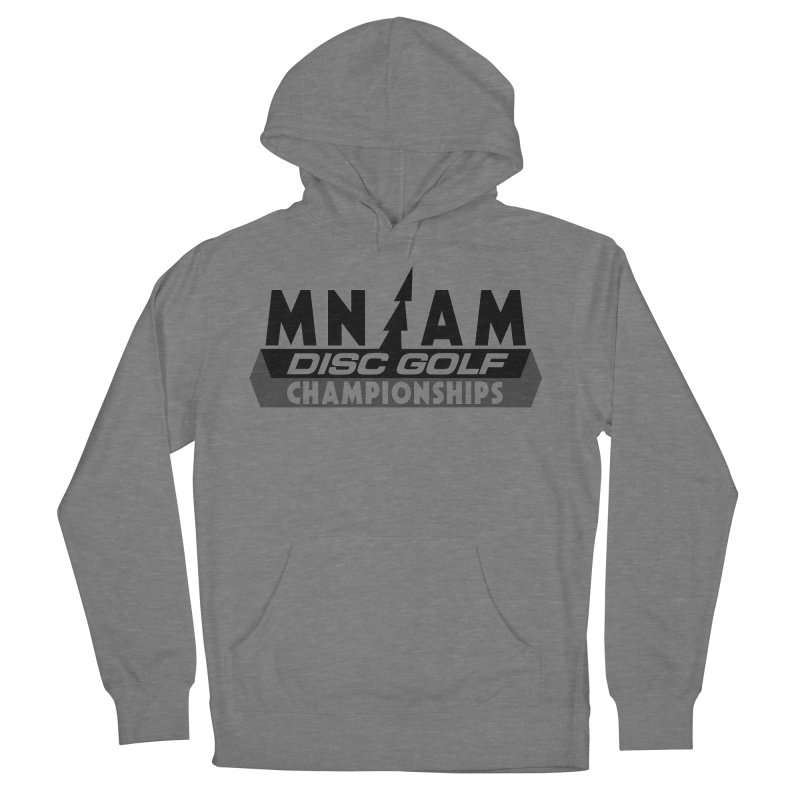 MN AMS Disc Golf Championships - Black Women's French Terry Pullover Hoody by TyDyed Art